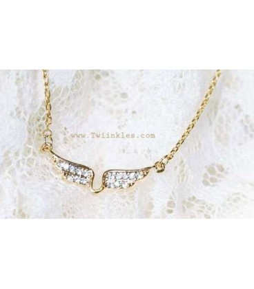 Golden Wings Necklace (3100005)