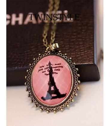 Eiffel Frame Necklace (3050047)