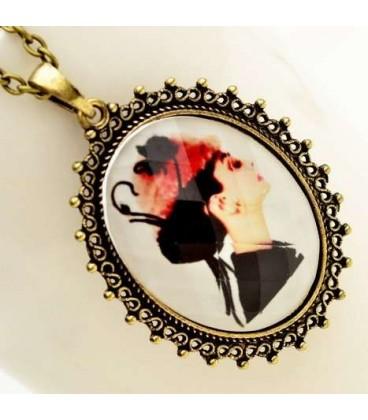 Lady Pendant Necklace (3050028)