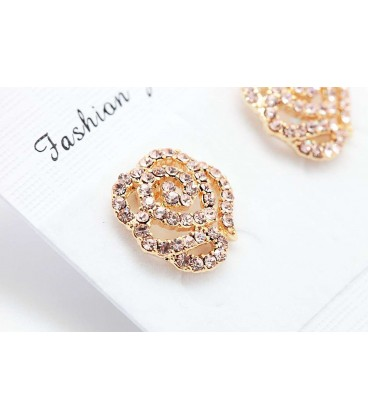 Stieg Gold Plated Earring (2090006)