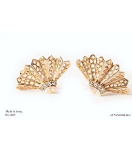 Flor Golden Earrings (2070034)